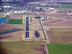 Aerial photo of KDXE (Dexter Municipal Airport)