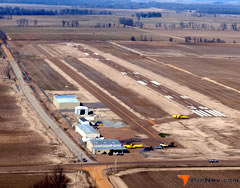Aerial photo of 6M7 (Marianna/Lee County Airport-Steve Edwards Field)