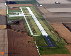 Aerial photo of KFZI (Fostoria Metropolitan Airport)