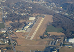 Aerial photo of KMQS (Chester County G O Carlson Airport)