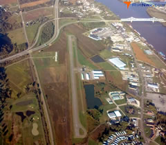 Aerial photo of KGAS (Gallia-Meigs Regional Airport)