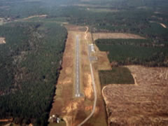 Aerial photo of 61R (Newton Municipal Airport)