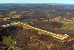 Aerial photo of 79D (Philippi/Barbour County Regional Airport)