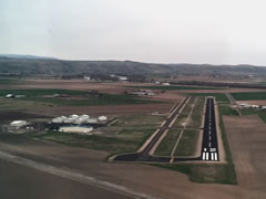 Aerial photo of S87 (Weiser Municipal Airport)