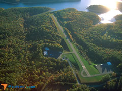 Aerial photo of KSXL (Summersville Airport)