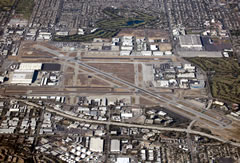 Aerial photo of KLGB (Long Beach Airport (Daugherty Field))