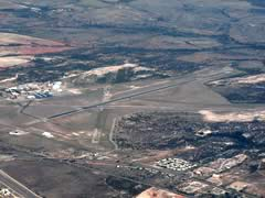 Aerial photo of KSWW (Avenger Field Airport)