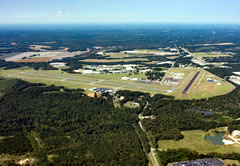 Aerial photo of KTCL (Tuscaloosa National Airport)