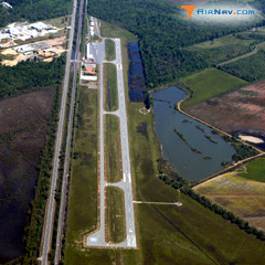 Aerial photo of KADF (Dexter B Florence Memorial Field Airport)