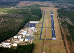 Aerial photo of KASD (Slidell Airport)