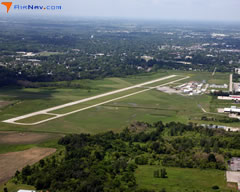 Aerial photo of KRNP (Owosso Community Airport)