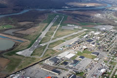 Aerial photo of KIPT (Williamsport Regional Airport)