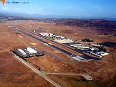 Aerial photo of KRNM (Ramona Airport)