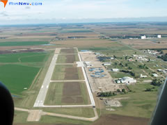 Aerial photo of KPTT (Pratt Regional Airport)