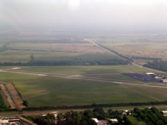 Aerial photo of KBMT (Beaumont Municipal Airport)