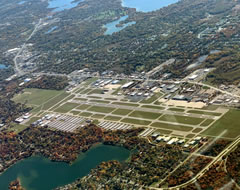 Aerial photo of KPTK (Oakland County International Airport)