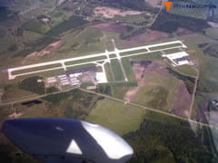 Aerial photo of KSTC (St Cloud Regional Airport)