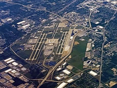 Aerial photo of KIND (Indianapolis International Airport)