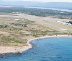 Aerial photo of KCEC (Jack Mc Namara Field Airport)