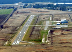 Aerial photo of 2F7 (Commerce Municipal Airport)