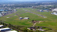 Aerial photo of KSLE (McNary Field Airport)
