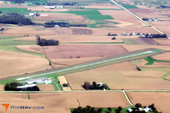 Aerial photo of KCHU (Houston County Airport)