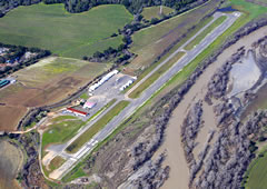 Aerial photo of O60 (Cloverdale Municipal Airport)