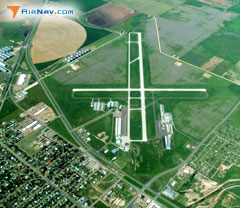 Aerial photo of KPVW (Hale County Airport)