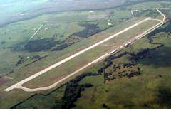Aerial photo of KLHB (Hearne Municipal Airport)
