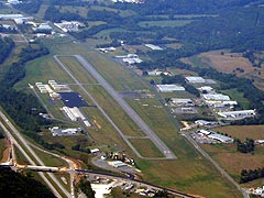 Aerial photo of 4A9 (Isbell Field Airport)