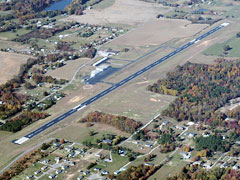 Aerial photo of 1M5 (Portland Municipal Airport)