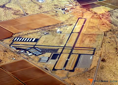 Aerial photo of KAVQ (Marana Regional Airport)