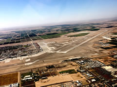 Aerial photo of KNYL (Yuma Marine Corps Air Station/Yuma International Airport)