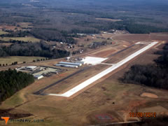 Aerial photo of KLUX (Laurens County Airport)
