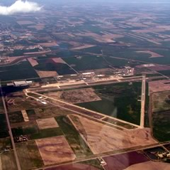 Aerial photo of KGBD (Great Bend Municipal Airport)