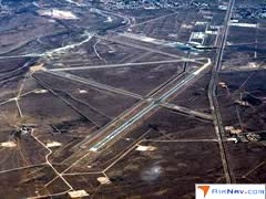 Aerial photo of KCNM (Cavern City Air Terminal)