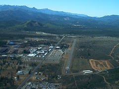 Aerial photo of 3S4 (Illinois Valley Airport)