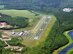 Aerial photo of KMZH (Moose Lake Carlton County Airport)