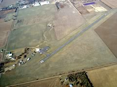 Aerial photo of 1D3 (Platte Municipal Airport)