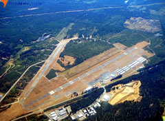 Aerial photo of KPWT (Bremerton National Airport)