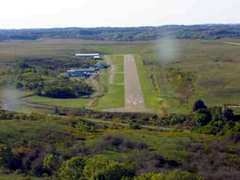Aerial photo of 8G6 (Harrison County Airport)