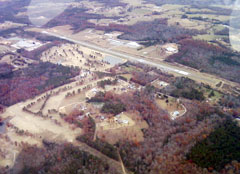 Aerial photo of 1M4 (Posey Field Airport)
