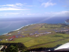 Aerial photo of PHLI (Lihue Airport)