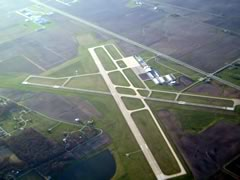 Aerial photo of KMTO (Coles County Memorial Airport)