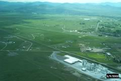 Aerial photo of 9S5 (Three Forks Airport)