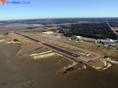 Aerial photo of KARW (Beaufort Executive Airport)