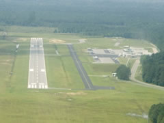 Aerial photo of KHYW (Conway-Horry County Airport)