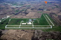 Aerial photo of KMQJ (Indianapolis Regional Airport)