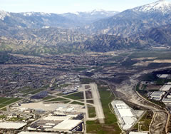 Aerial photo of KSBD (San Bernardino International Airport)