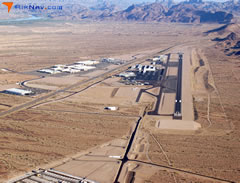 Aerial photo of KHII (Lake Havasu City Airport)